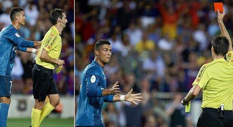 Ronaldo şi-a primit pedeapsa după ce l-a împins pe arbitru în Supercupă. Suspendare drastică pentru CR7. Câte meciuri ratează şi când revine pe teren