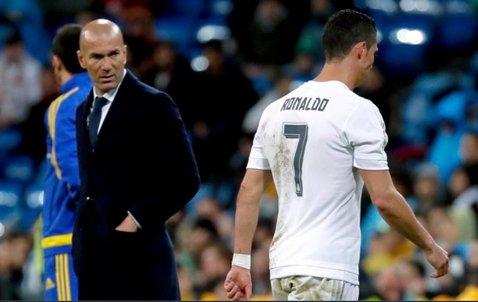 """Cum a comentat Zidane suspendarea de cinci etape primită de Ronaldo. Antrenorul Realului a ales cuvinte tari: """"Sper ca membrii comisiei..."""""""