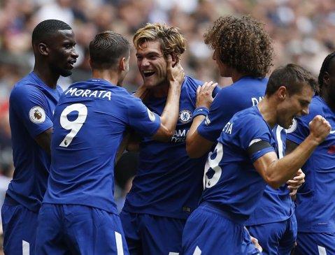 """Spectacol şi dramatism în primul derby al sezonului în Premier League: Tottenham - Chelsea 1-2! Meciul contrastelor, cu un autogol al unui atacant şi o """"dublă"""" a unui fundaş"""