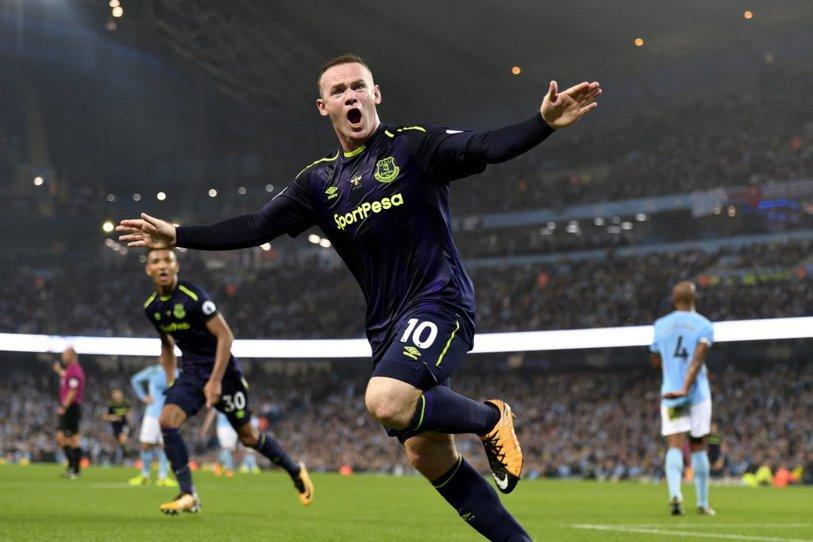 City şi Everton, egal cu doi eliminaţi în ultimul meci al etapei în Premier League. Rooney a atins o bornă impresionantă