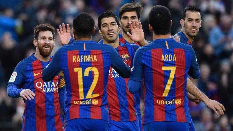 Barcelona şi-a prezentat al treilea echipament pentru actualul sezon. FOTO | Culoarea inedită pe care o vor îmbrăca Messi&co