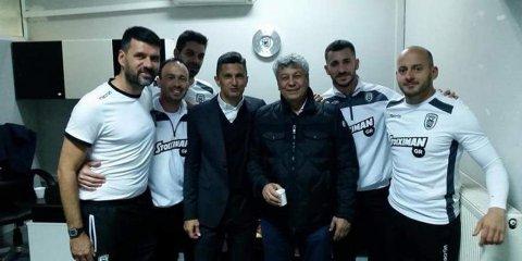 FOTO | Suporter de lux pentru Răzvan Lucescu în Grecia! I-a purtat noroc la victoria care l-a adus la egalitate cu liderul, pe primul loc