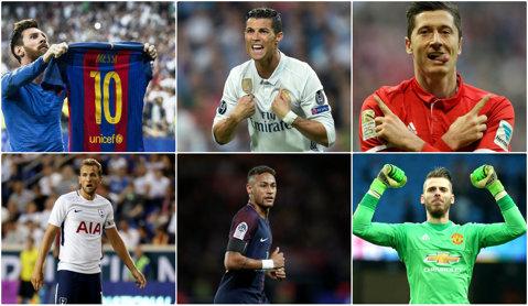11 jucători de la Real Madrid, printre cei 50 de fotbalişti nominalizaţi de UEFA la echipa anului