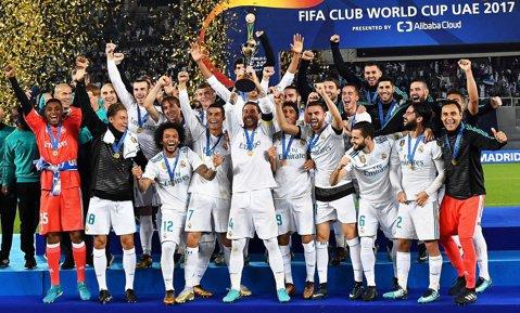 """Real Madrid - Gremio 1-0. VIDEO   Golul superb al lui Ronaldo a adus un nou trofeu şi o performanţă istorică pentru Zidane! """"Galacticii"""" au câştigat pentru a treia oară CM al Cluburilor"""