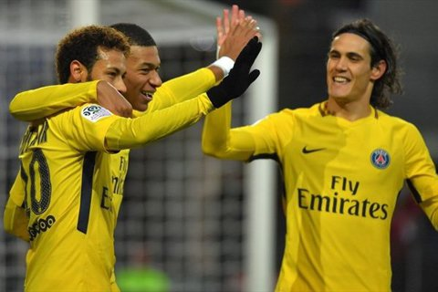 """PSG şi-a spulberat adversara în ultima etapă din Ligue 1. Neymar a revenit cu o """"dublă"""""""