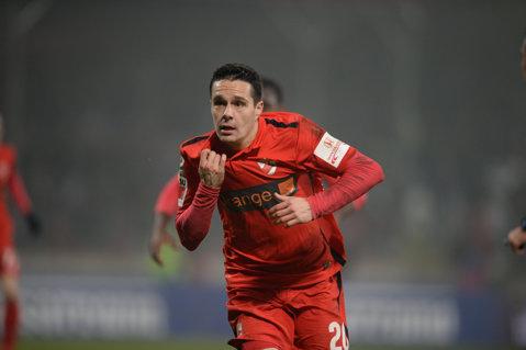 ULTIMA ORĂ | Palic şi-a reziliat contractul cu Mouscron şi poate deveni o ţintă pentru cluburile din Liga 1