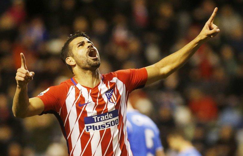 Revenire de vis pentru Diego Costa la Atletico! Atacantul a marcat la numai câteva minute după ce a fost introdus pe teren