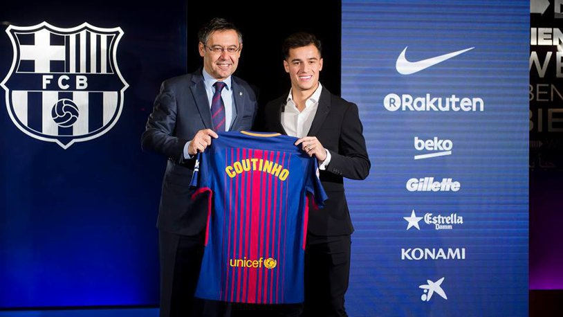 """Coutinho va purta un număr de legendă la Barcelona. Jucătorul care pleacă pentru a-l """"elibera"""" şi reacţia brazilianului când a venit vorba despre #10: """"E un singur număr zece suprem!"""""""