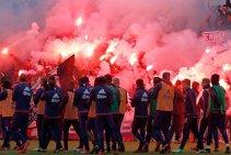 VIDEO | Aşa arată iubirea pentru culori! Cum au aşteptat ultraşii lui Ajax echipa la antrenamentul care a precedat derby-ul cu Feyenoord