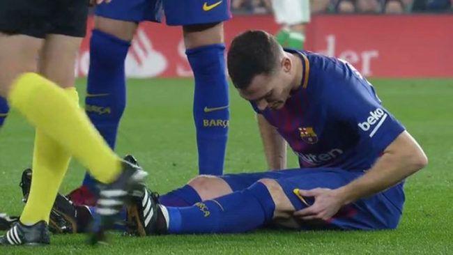 """Încă o """"lovitură"""" pentru cel mai ghinionist jucător din lotul Barcelonei! S-a accidentat în cel mai bun moment al carierei pe Camp Nou"""
