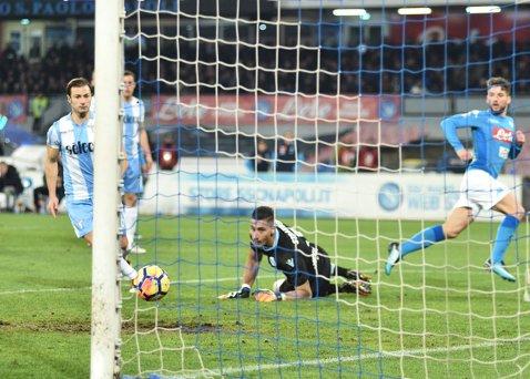 """Veştile bune vin de la Roma. Lazio, zdrobită de Napoli în ultimul meci înainte de FCSB! Echipa lui Inzaghi se """"scufundă"""" în Serie A"""