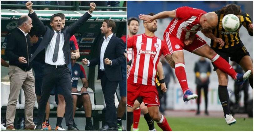 Vestea care îi dă aripi lui Răzvan Lucescu în lupta pentru titlu! Olympiacos a fost depunctată în urma unor incidente cu fanii. Pe ce loc au ajuns rivalii lui PAOK