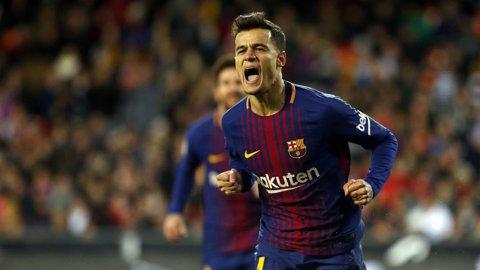 VIDEO   Catalanii s-au întrecut în execuţii! Barcelona a umilit-o pe Girona într-un meci în care Suarez a reuşit un hat-trick, Messi l-a imitat pe Ronaldinho, iar Coutinho a izbutit prima bijuterie pe Camp Nou