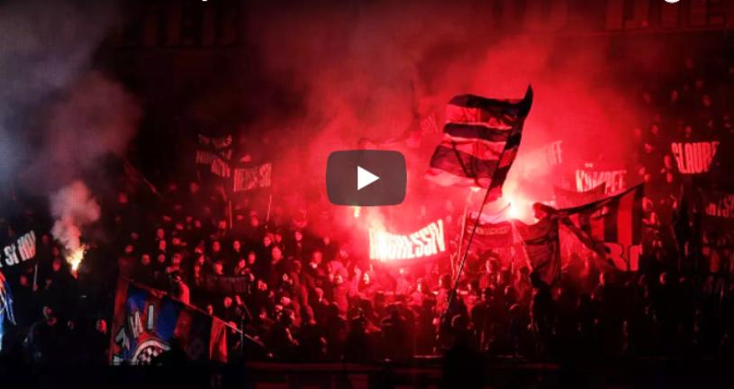 VIDEO | De Legea 4 nu le e frică! Elveţienii au făcut un super-show pirotehnic în tribune la FC Basel - Zurich. Meciul a fost amânat dintr-un motiv surprinzător