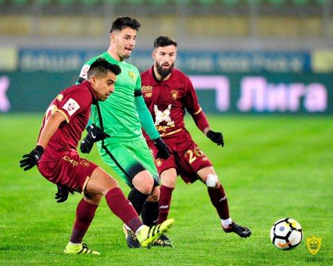 VIDEO | Paul Anton, în zi de şut! Fostul căpitan al lui Dinamo a marcat două goluri într-o repriză, ambele din afara careului, în prima ligă a Rusiei