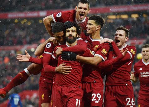 Salah, Salah, Salah, Salah! Liverpool a demolat-o pe Watford, egipteanul a fost prim-solist pe Anfield. Cu cine-l compară Jurgen Klopp