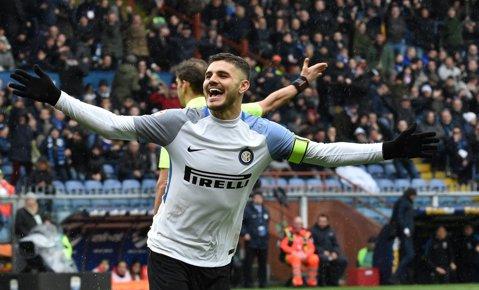 """Festival de goluri în Serie A! Icardi a semnat un """"poker"""", AC Milan a ajuns la cinci victorii consecutive. Zenga şi Stoian au rezistat aproape o repriză în compania Romei"""