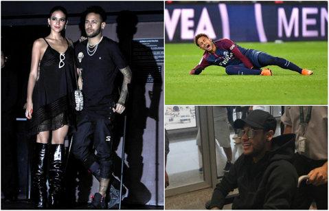 Din scaunul cu rotile pe ringul de dans! VIDEO | Neymar a mers în cârje în club, iar fanii nu l-au iertat. Reacţiile dure primite de starul brazilian