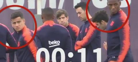 VIDEO | Barcelona, butoi cu pulbere? Situaţie tensionată la ultimul antrenament al catalanilor. Ce au făcut Messi şi Suarez şi cum au reacţionat colegii