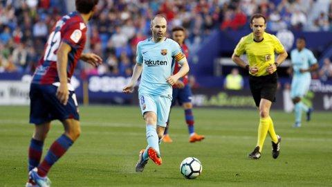 Levante - Barcelona 5-4. Catalanii au suferit prima înfrângere în La Liga după ce au fost conduşi cu 5-1. Coutinho, la primul hat-trick în tricoul blaugrana | VIDEO