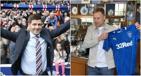 """Steven Gerrard şi primul transfer al carierei de antrenor. Jucătorul din Premier League pe care l-a convins să vină la Rangers: """"Sunt încântat că l-am adus!"""""""
