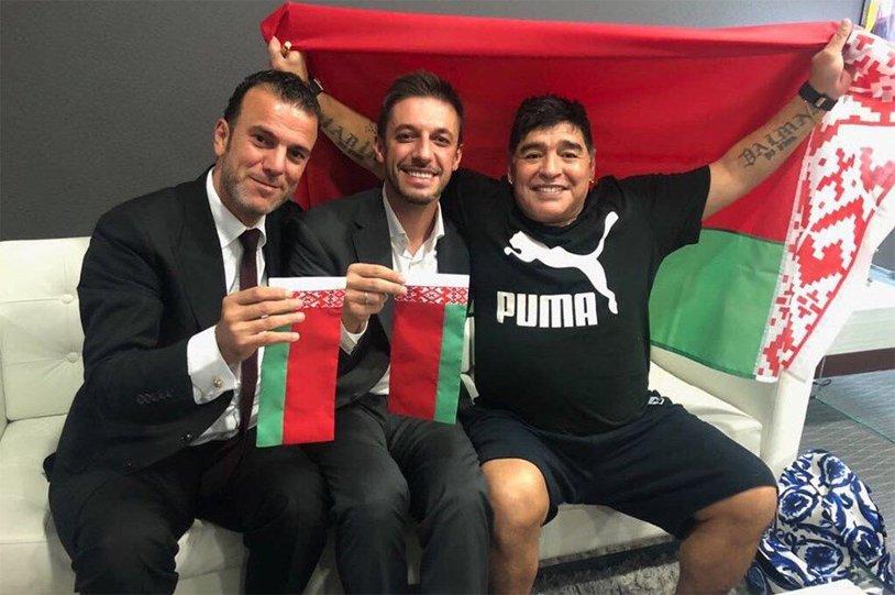 """Lovitură de imagine! Maradona a acceptat prima aventură în Europa: """"Am semnat cel mai frumos contract al vieţii mele"""""""