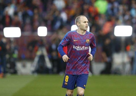 Surpriză! Iniesta e foarte aproape să semneze cu o altă echipă, după ce nu s-a înţeles cu echipa din China