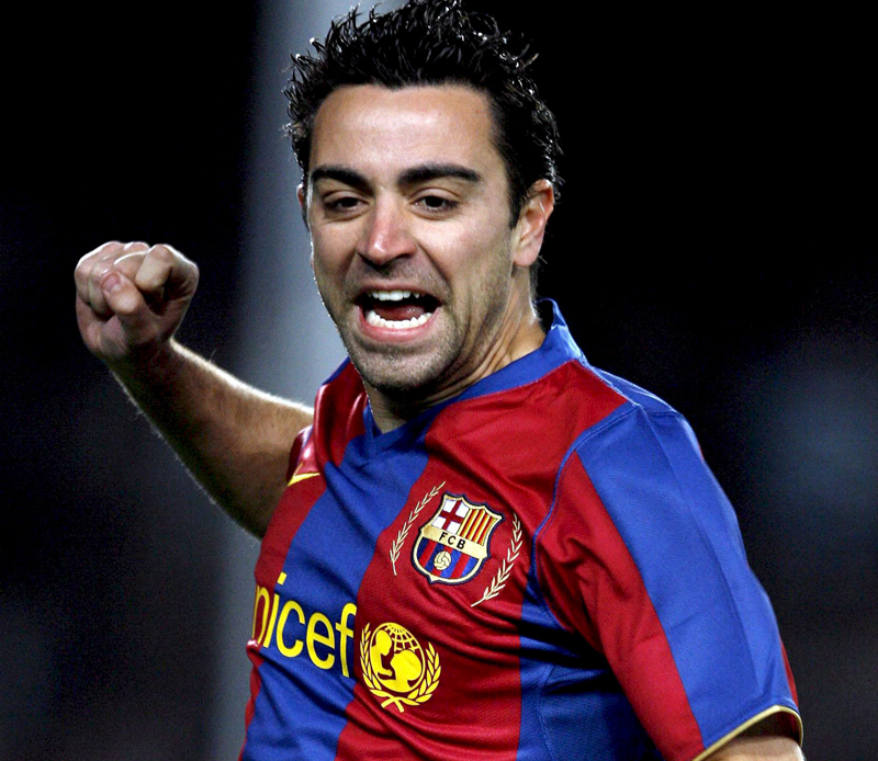 Xavi Hernandez football star