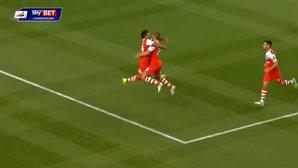 Ţucudean şi-a ameţit adversarii: gol şi penalty obţinut în Charlton - Derby 3-2. VIDEO REZUMAT