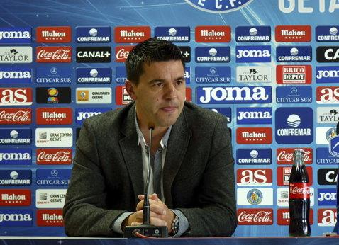 Contra s-a înţeles cu Guangzhou R&F şi va pleca în China în ianuarie. Spaniolii anunţă că Getafe va încasa 1.5 milioane de euro în urma mutării