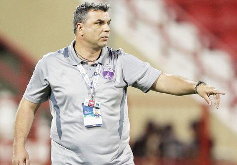 Cosmin Olăroiu a obţinut o remiză cu Al Ahli, înaintea plecării la naţionala Arabiei Saudite