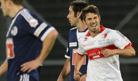 Ovidiu Herea, gol pentru FC Sion în remiza cu Lucerna, scor 2-2