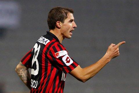 """Bogdan Stancu, acuzat că a """"trântit"""" meciul cu Galata! Mesajul postat de un coechipier pe Twitter a fost apoi şters"""