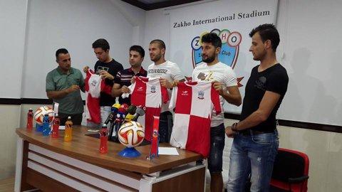 Florin Costea, Daminuţă şi Leca au fost prezentaţi oficial la noul lor club din Irak. Ce numere vor avea pe tricou românii antrenaţi de Ilie Stan