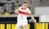 VfB Stuttgart a fost eliminată din sferturile Cupei Germaniei de Borussia Dortmund. Maxim, doar rezervă