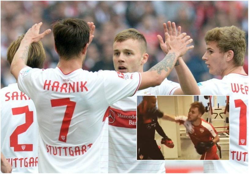 VIDEO | Alexandru Maxim, box în vestiarul lui VfB Stuttgart. Cum s-a terminat pentru mijlocaşul român
