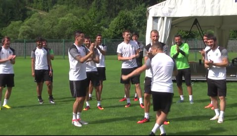 """Torje nu va uita niciodată primul antrenament la Terek Groznîi. VIDEO   Românul si-a primit """"botezul"""""""