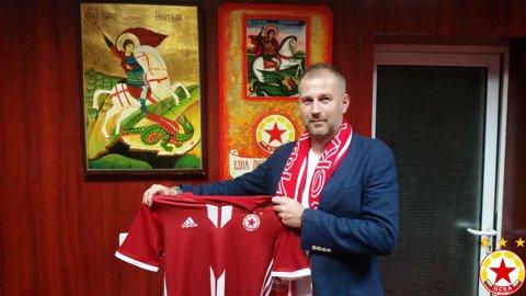 FOTO: Edi Iordănescu a fost anunţat oficial la noua sa echipă