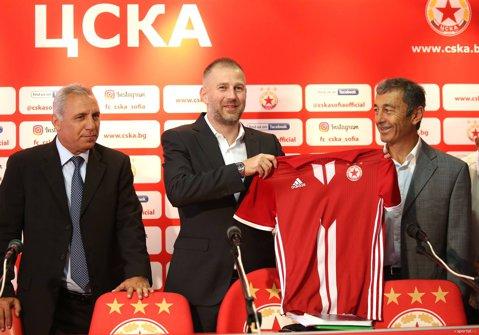 Edi Iordănescu, prezentat oficial la ŢSKA Sofia. Ce obiectiv şi-a fixat