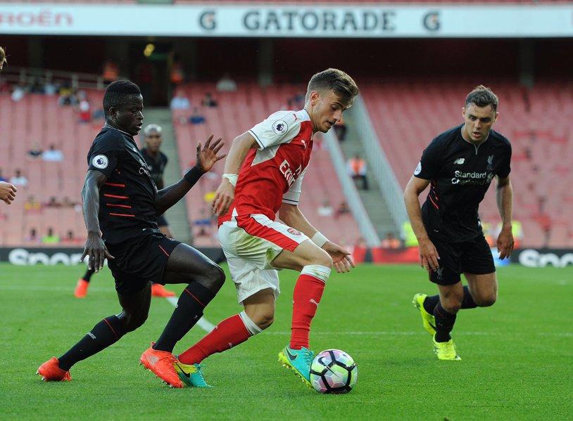 VIDEO | Gol spectaculos marcat de Vlad Dragomir a marcat pentru Arsenal U18