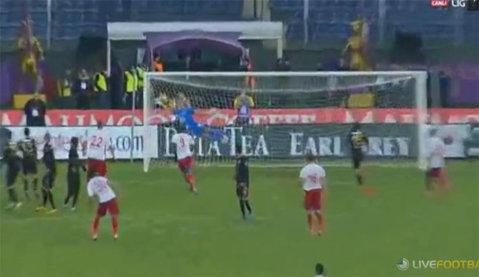 VIDEO | Gol spectaculos înscris de Iasmin Latovlevici în Osmanlispor - Karabukspor 2-1