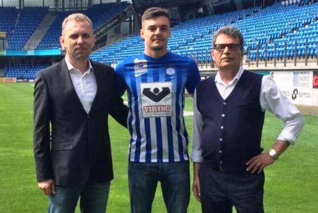 Adrian Petre a marcat primul gol pentru Esbjerg