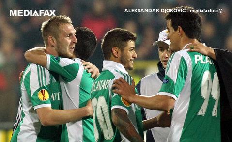 Nici dacă era atacant nu dădea aşa bine! :) Cosmin Moţi a înscris spectaculos pentru Ludogoreţ, în Europa League