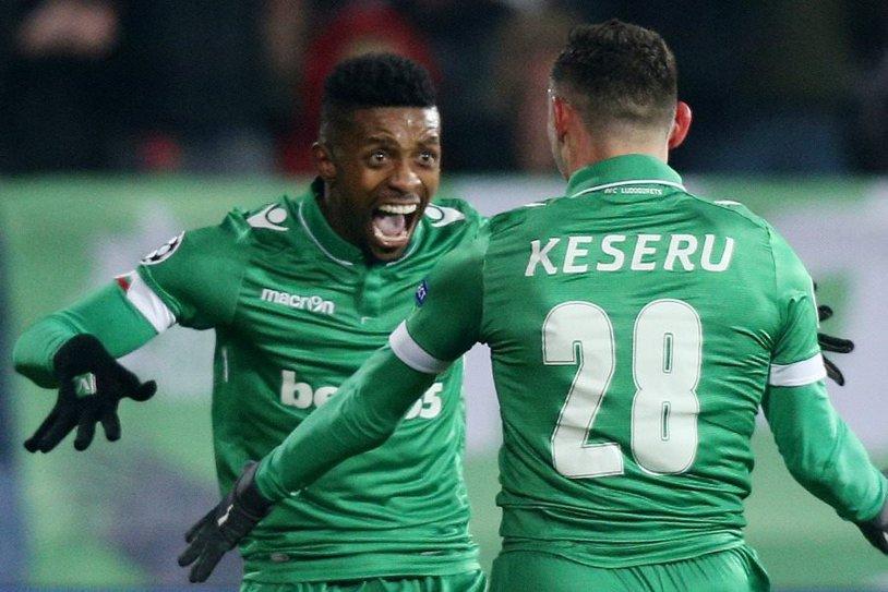 S-a trezit Keşeru! Atacantul român a marcat două goluri Slavia Sofia - Ludogoreţ 0-4
