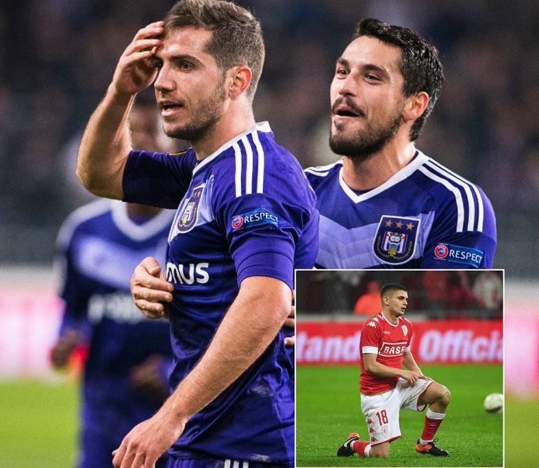 Un nigerian a decis derby-ul românilor din Belgia! Chipciu, Stanciu şi Răzvan Marin au jucat în Anderlecht - Standard Liege