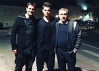 FOTO | Hagi a mers în Italia să se intereseze de situaţia lui Ianis la Fiorentina. Mesajul superb postat de Cristi Chivu