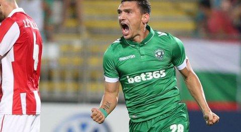 VIDEO | Keşeru-show în Bulgaria! Atacantul român a marcat două goluri şi a oferit un assist spectaculos, cu călcâiul, în victoria lui Ludogoreţ din ultimă etapă