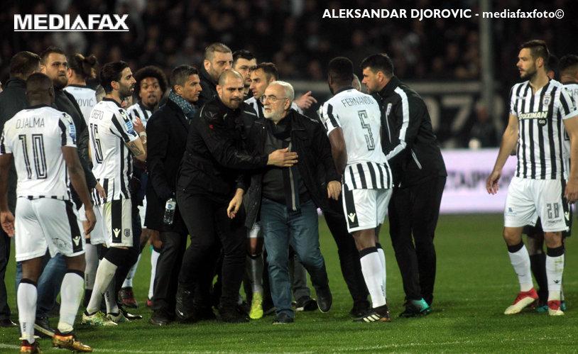 Oficialii FIFA au mers la Atena pentru a discuta pe seama situaţiei fotbalului din Grecia! Decizia drastică luată împotriva lui PAOK şi ce riscă patronul Ivan Savvidis