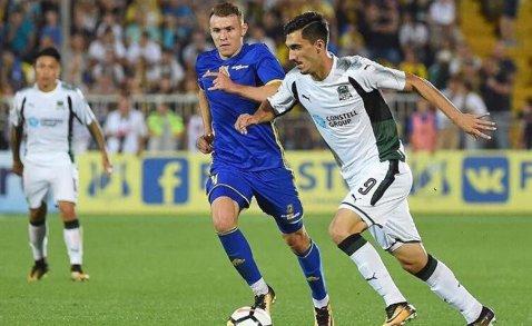 Ivan cel scump la vedere. Apariţie rarisimă a atacantului adus cu 3 milioane de euro la Krasnodar! Cât a jucat în derby-ul cu ŢSKA Moscova