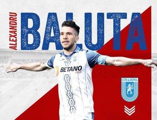 Prima declaraţie a lui Băluţă după ce a semnat cu noua echipă! Românul a fost prezentat cu mare fast, dar i-a fost greşită vârsta   VIDEO + FOTO